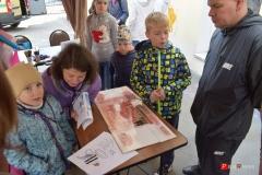 <strong>Маленькие посетители серьезного учреждения активно участвовали в развлекательной программе</strong>