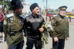 Казаки были недалеко от участников антикоррупционной акции