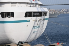 <strong>Океанский лайнер Amadea посетил Владивосток и открыл круизный сезон в Приморье</strong>