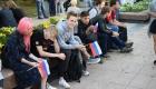 <strong>Среди участников митинга было много молодежи</strong>