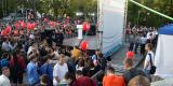 <strong>Для выступления Алексея Навального было сооружена сцена</strong>