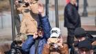 <strong>Горожане снимали происходящее на камеры смартфонов и фотоаппараты</strong>