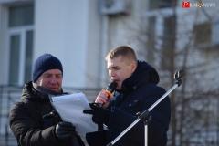 <strong>В начале митинга организаторы сообщили, что в связи с морозом надолго горожан не задержат</strong>