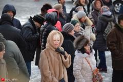 """<strong>В ощутимо морозную погоду митинг, организованный фондом развития Владивостока """"Горожанин и гражданин"""" собрал несколько десятков жителей краевого центра Приморья</strong>"""