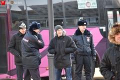 <strong>За порядком на митинге следили полицейские</strong>
