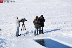<strong>На мастер-классе по зимнему плаванию присутствовали журналисты</strong>