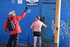 """<strong>Клуб любителей зимнего плавания """"Морж"""" был основан во Владивостоке в 1946 году. Сегодня в него входят несколько сотен участников самого разного возраста.</strong>"""