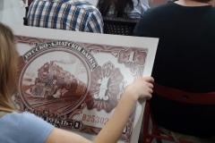 """Увеличенные копии банкнот подготовили специально к акции """"Ночь музеев"""""""