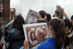 Посетители смогли познакомиться с многообразием денег и их «заменителей»