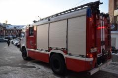 <strong>Пожарные дежурили у торгового центра Clover House</strong>