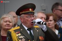 <strong>Также на торжественной линейке была исполнена патриотическая песня</strong>