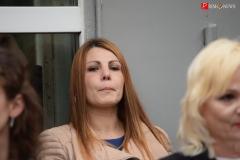 <strong>На торжественном открытии мемориальной доски присутствовала вдова Героя Наталья Маслова</strong>
