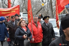 <strong>В краевом центре Приморья 7 ноября прошло массовое шествие в честь 100-летия Великой Октябрьской социалистической революции</strong>