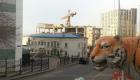 Вид на недострой со стороны улицы Тигровой