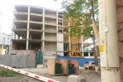 Недостроенное административное здание (ул. Тигровая, д. 23б)