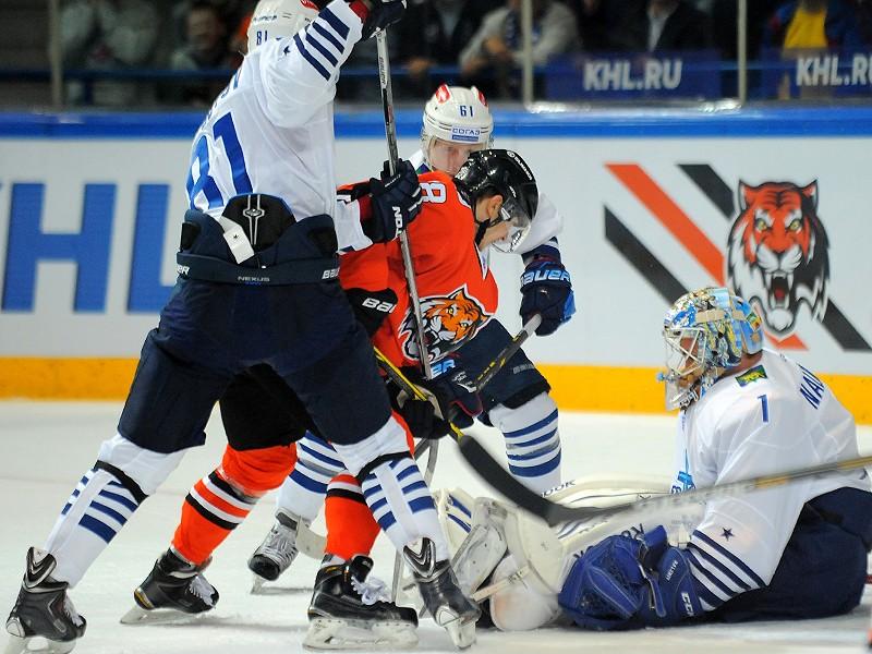 «Адмирал» проиграл «Амуру» в матче регулярного чемпионата КХЛ