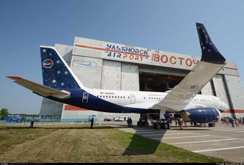 Бывшие самолёты «Владивосток Авиа» будут возить космонавтов