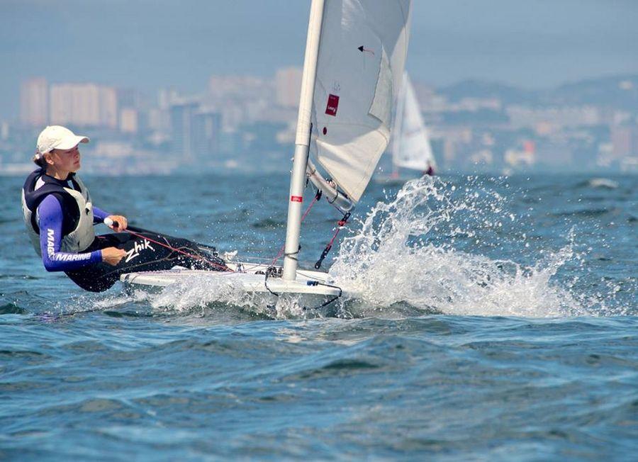 Приморская яхтсменка выиграла серебро первенства мира
