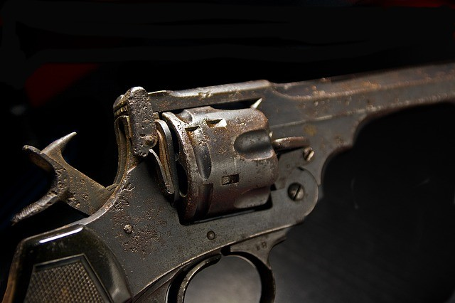 Иностранный револьвер и наркотики обнаружили полицейские в машине приморца