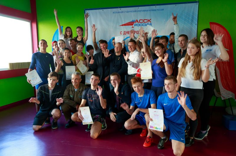 Во ВГУЭС открыли новую спортивную площадку