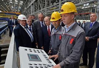 Судостроительный комплекс «Звезда» запустил первую очередь