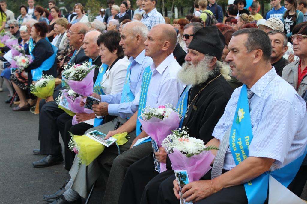 В Арсеньеве открылась Почетная Доска Почётных граждан