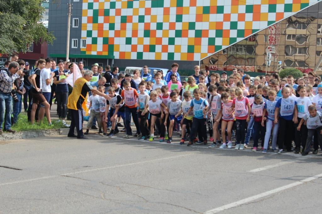 Всероссийский день бега прошёл в Арсеньеве
