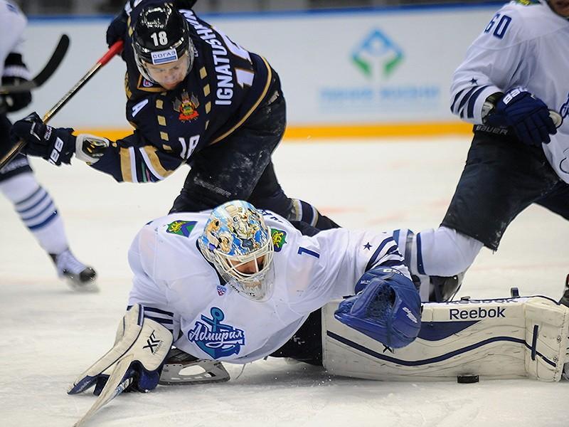 Хоккеисты «Адмирала» уступили в Сочи