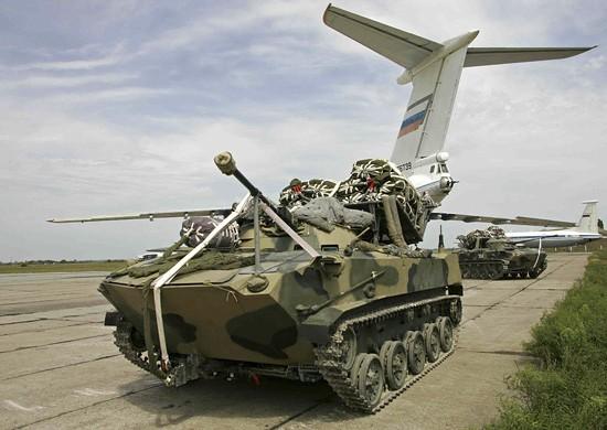 Приморские десантники получат модернизированные боевые машины БМД-2