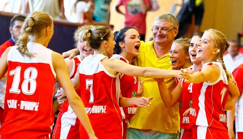 Приморские баскетболистки стали лучшими в России