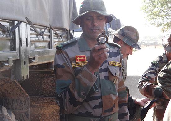 Российско-индийские военные учения стартовали во Владивостоке