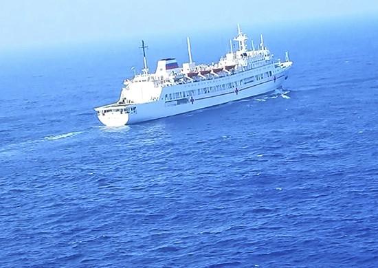 Госпитальное судно ТОФ «Иртыш» стало участником международных учений