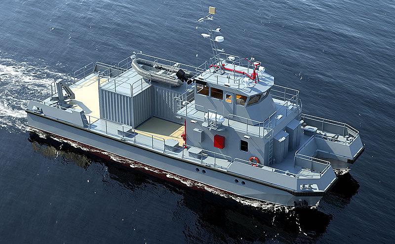 Тихоокеанский флот пополнится модульными водолазными катерами