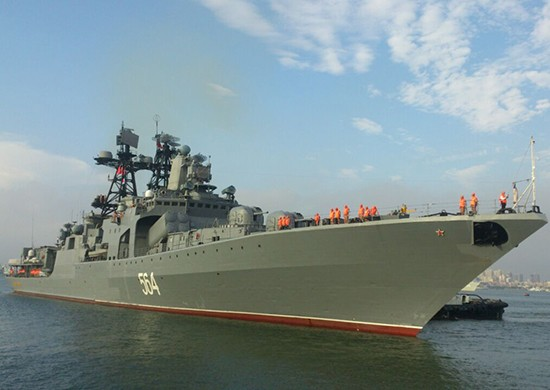 Моряки-тихоокеанцы прибыли на российско-китайские учения