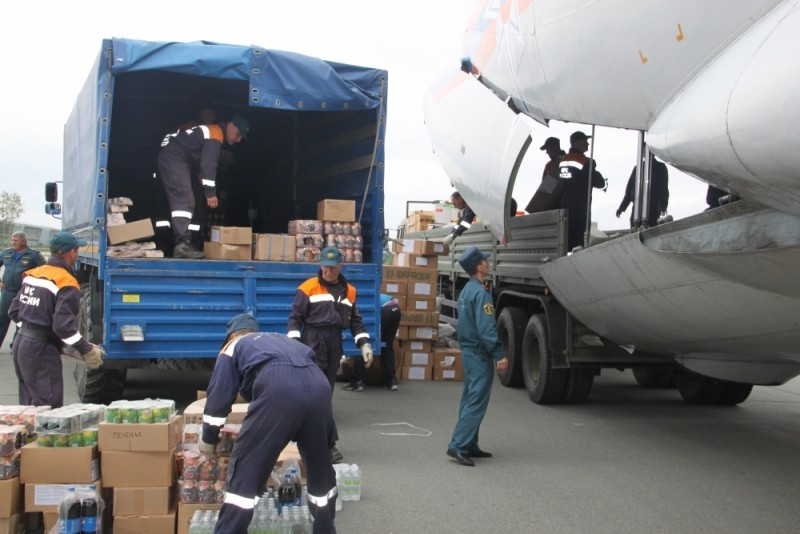 Как авиация МЧС помогала справляться с последствиями тайфуна в Приморье
