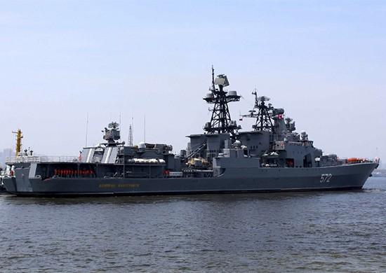 Экипажи кораблей ТОФ прибыли на учения в Южно-Китайское море
