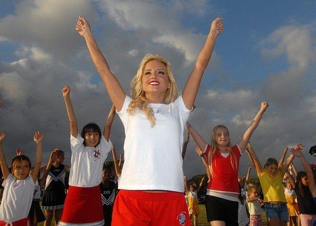 Первые соревнования по черлидингу прошли в Артёме