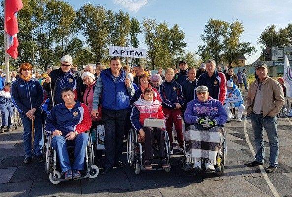 Спортсмены общества инвалидов Артёма вернулись с победой с краевой спартакиады «Инваспорт-2016»