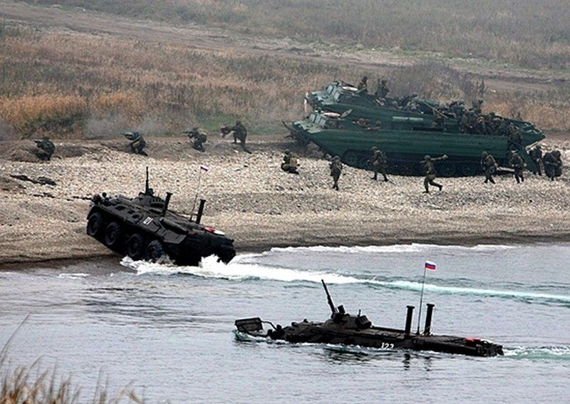 Морпехи ТОФ начали подготовку к учению по захвату и обороне морского побережья