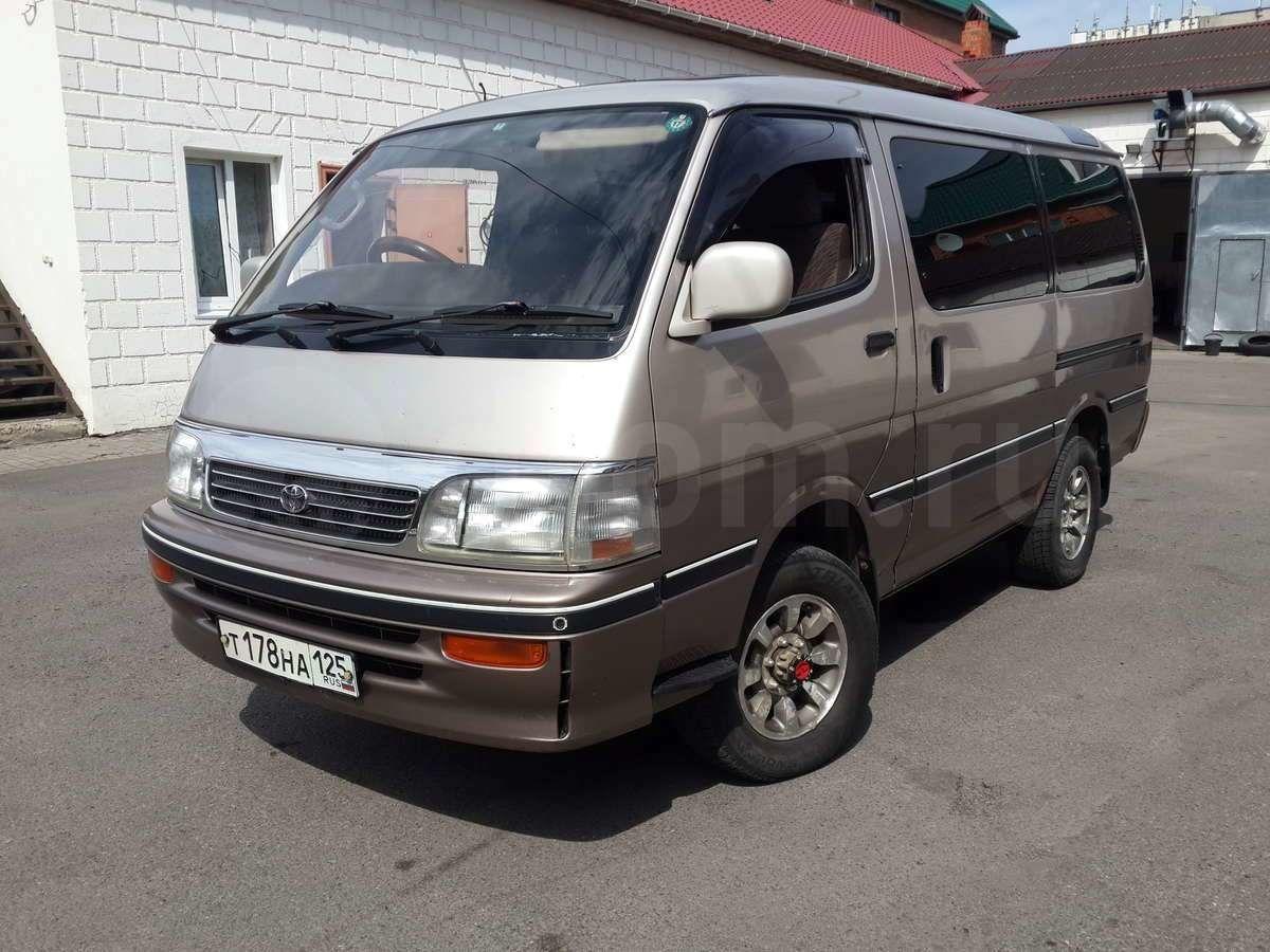 Автопортал купил у приморского пенсионера старый микроавтобус за миллион рублей