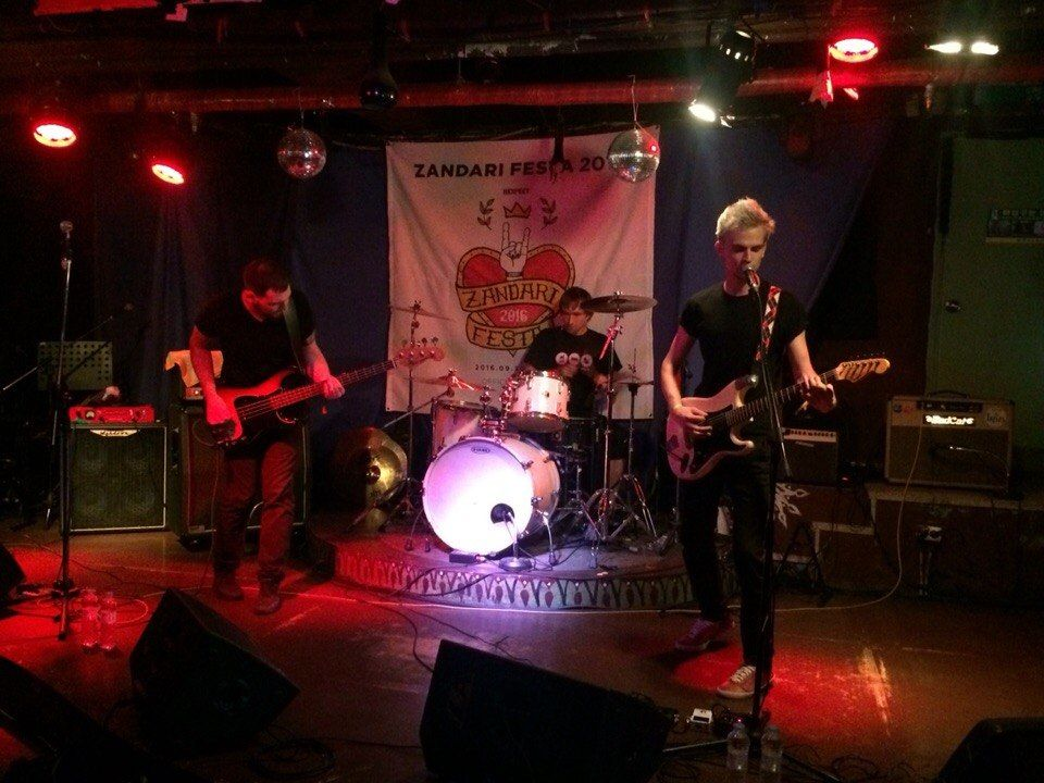 Приморские рокеры выступили на фестивале в Южной Корее