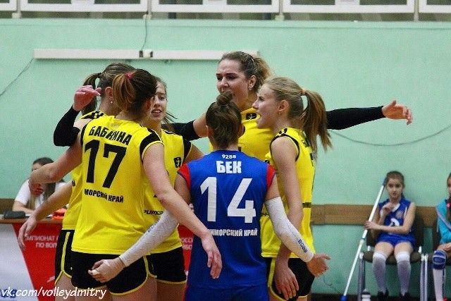 Волейболистки «Приморочки» победили «Политех»