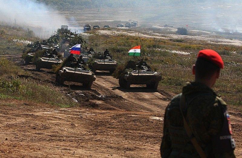 В Приморье завершилась активная фаза российско-индийских военных учений