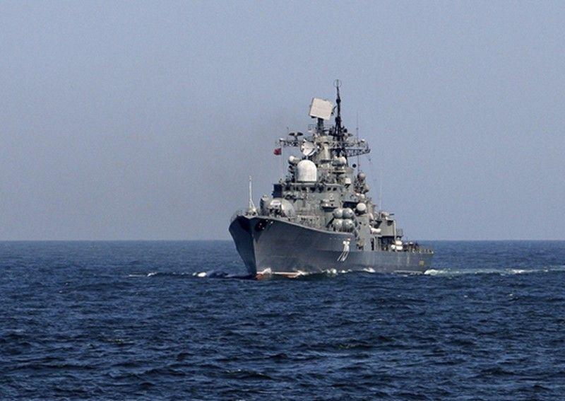Во Владивосток из дальнего похода вернулся эскадренный миноносец «Быстрый»