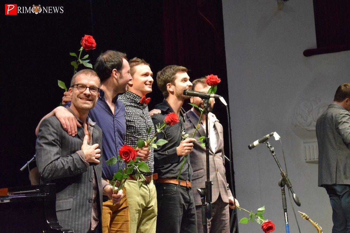 Французских и японских джазменов собрал на одной сцене владивостокский фестиваль