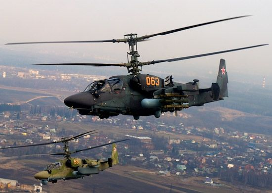 Таиланд попытаются заинтересовать ударными вертолётами Ка-52, которые выпускают в Приморье