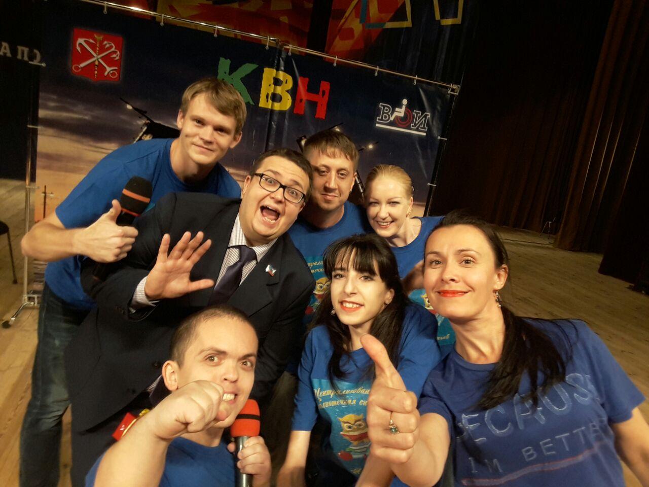 Команда из Арсеньева отличилась на фестивале КВН в Санкт-Петербурге