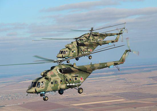 Над мэрией Владивостока кружили штурмовые вертолёты «Терминатор»