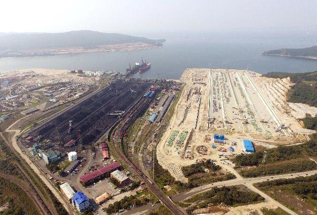 Приморский Восточный порт увеличил перевалку угля