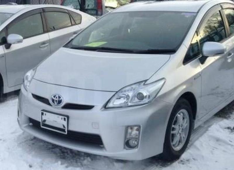 Владивостокская таможня не пустила во Владивосток радиоактивную Toyota Prius Hybrid
